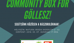 Community box for Göllesz